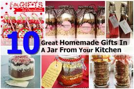 Gifts From The Kitchen 10 Great Homemade Gifts In A Jar From Your Kitchen