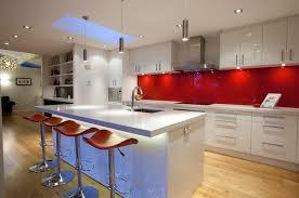 ferrarini red glass backsplash