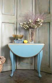 vintage drop leaf coffee table small round table oval blue side table end table old charm drop leaf coffee table