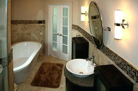 bathroom wall tile installation tile bathroom floor and wainscot with custom glass mosaic insert bathroom wall ceramic tile installation