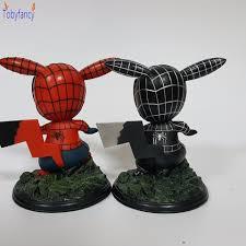 Spider Man Hành Động Hình Pikachu Cosplay Spiderman Venom PVC 120 mét Phim  Hoạt Hình Pikachu Sưu Tập Mô Hình Toy|model toy|action figures  pikachuaction figure - AliExpress