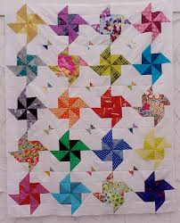 Free Tutorial - Half Square Triangle Quilt By Little Island Quilting & Half Square Triangle Quilt Adamdwight.com