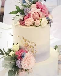 Buttercream 2 Tier Wedding Cake Gingerbread Spinach Blueberry