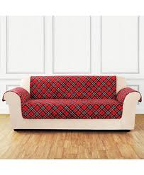 CLOSEOUT! Sure Fit Holiday Motifs Quilted Sofa Slipcover ... & Sure Fit Holiday Motifs Quilted Sofa Slipcover Adamdwight.com