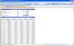 Amortized Schedule Excel 011 Template Ideas Amortization Schedule Excel Calculator Templates