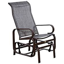 outside glider chair.  Glider Outsunny Outdoor Fabric Gliding Chair And Outside Glider K