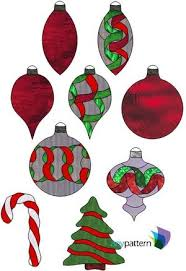 Christmas Stained Glass Patterns Beauteous Christmas Stained Glass Patterns anypattern