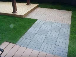 patio flooring over grass temporary tile for ers home design ideas outdoor patio flooring over grass