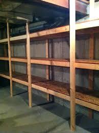 looking back basement storage shelves menards how to build inexpensive wooden storage shelves