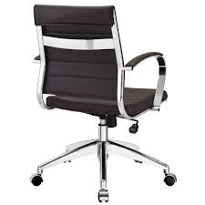 lexmod ribbed mid office. Shop Jive Black Ribbed Vinyl Mid-back Executive Office Chair - On Sale Free Shipping Today Overstock.com 8429655 Lexmod Mid