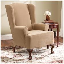 sofa and chair. sure fit chair covers short dining cover surefit slipcovers loveseat sofa and