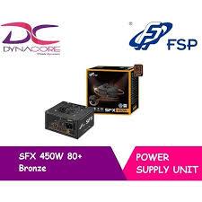 fsp sfx 450w 80 bronze psu