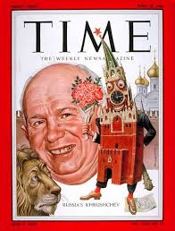 TIME Magazine Cover: Nikita Khrushchev - Apr. 30, 1956 | Time magazine,  Time inc, Ad art