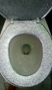 diy glitter furniture. I Made My Own Glitter Shitter Toilet Seat! The Throne Of All Thrones. DIY With Glitter. Diy Furniture