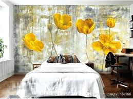 fl wall art pictures yellow flower photo wallpapers murals living room bedroom wall art home decor