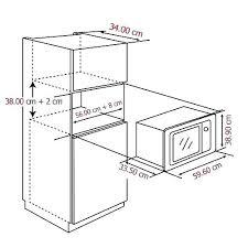 countertop microwave dimensions 0