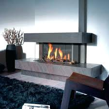 3 sided fireplace ideas unique gas best glass electric full size