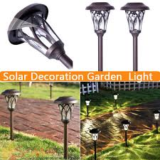 Solar Powered Garden Lights Bq  RoselawnlutheranSolar Lights For Garden Bq