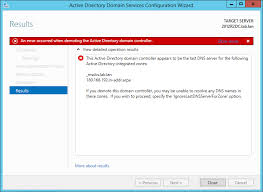 The Active Directory Domain Controller Appears To Be The