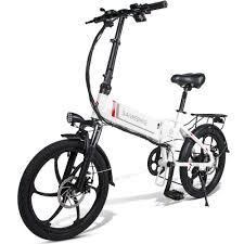 <b>Samebike 20LVXD30 Smart</b> Folding Electric Moped Bike E-bike EU ...