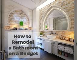 Remodeling A Bathroom On A Budget Unique Inspiration Design