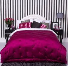 Pink And Purple Wallpaper For A Bedroom Bring Up The Monochrome With Black And White Bedroom Wallpaper