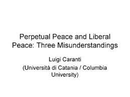 semester iii previous year questions ba h political science du  caranti l perpetual peace and liberal peace three misunderstandings