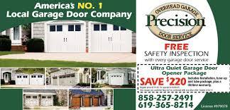 Backyards : Splendid Precision Garage Door Opener Overhead Bottom ...