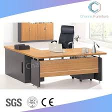 design of office table. L Shape Office Table Classical Design With Mobile Drawer U Shaped Of B