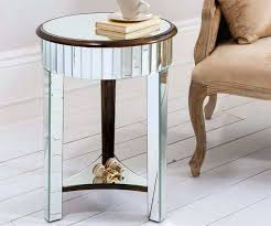 round mirror table image of round mirrored side table mirror table lamp base round mirror table