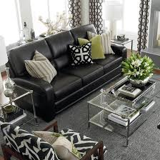 living room black leather couches catalunyateam home ideas black leather couches furniture