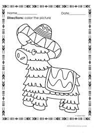 Cinco De Mayo Kids Worksheet (Page 3 ...