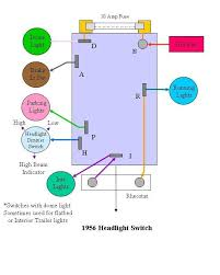 dolphin gauges and headlight switch ford truck enthusiasts forums 1995 ford f350 headlight switch wiring diagram at Ford F 350 Headlight Switch Wiring Diagram