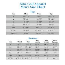 Puma Golf Size Chart