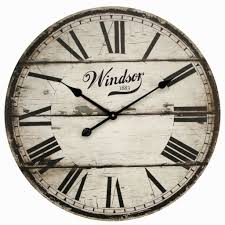 roman numeral wall clocks large inspirational rustic etra large round roman numeral wall clock distressed wooden