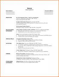 Shocking Resume Template For Internship Ulyssesroom
