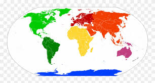 Seven Continents Australia Not Oceania Us Blank Map World