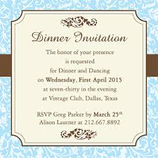 Fab Dinner Party Invitation Wording Examples You Can Use As