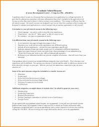 Grad School Resume Cover Letter Mistakes Lovely Resume for Graduate School 41