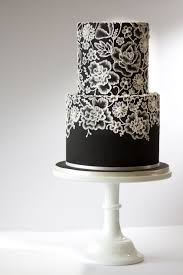 Amy Beck Cake Design Amy Beck Cake Design Chicago Il Black 2 Tier Cake With