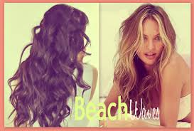 Beach Wave Hair Style beach hair tutorial victorias secret curly hairstyles how 5475 by wearticles.com
