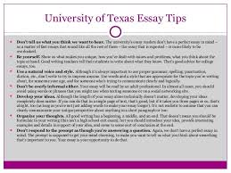 Communicating Your Story     Tips for Powerful College App Essays     University of