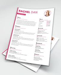 Enrich Free Creative Resume Template Doc - Maxresumes