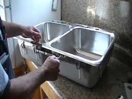 Kitchen How To Install Sink Clips  How To Install Undermount Kitchen Sink Mounting Clips