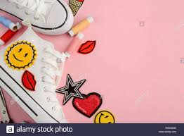 Custom Design Threads Custom Design For Blank Sneakers New Shoes Different Cool