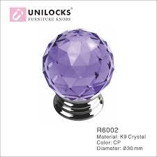 colored glass door knobs. 10pcs/dozen k9 crystal glass chrome cabinet cupboard door knobs (diameter:30mm, colored o