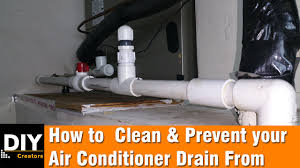 how to clean and prevent your air conditioner drain from clogging diy creators
