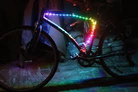 picture of diy bike led lights