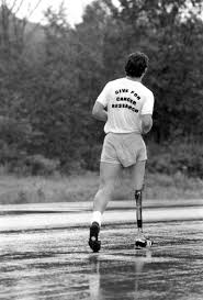 terry fox the canadian encyclopedia terry fox running