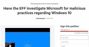 Windows 10 Petition Anti Forced Windows 10 Upgrades Petition Reaches 5 000